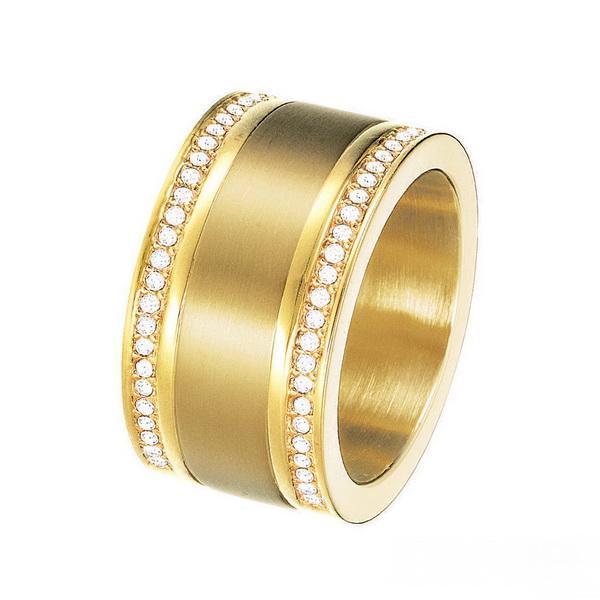 ESPRIT Damenring Edelstahl Silber Achat Pure Stone Ring ESRG11581B UVP 59,90 €